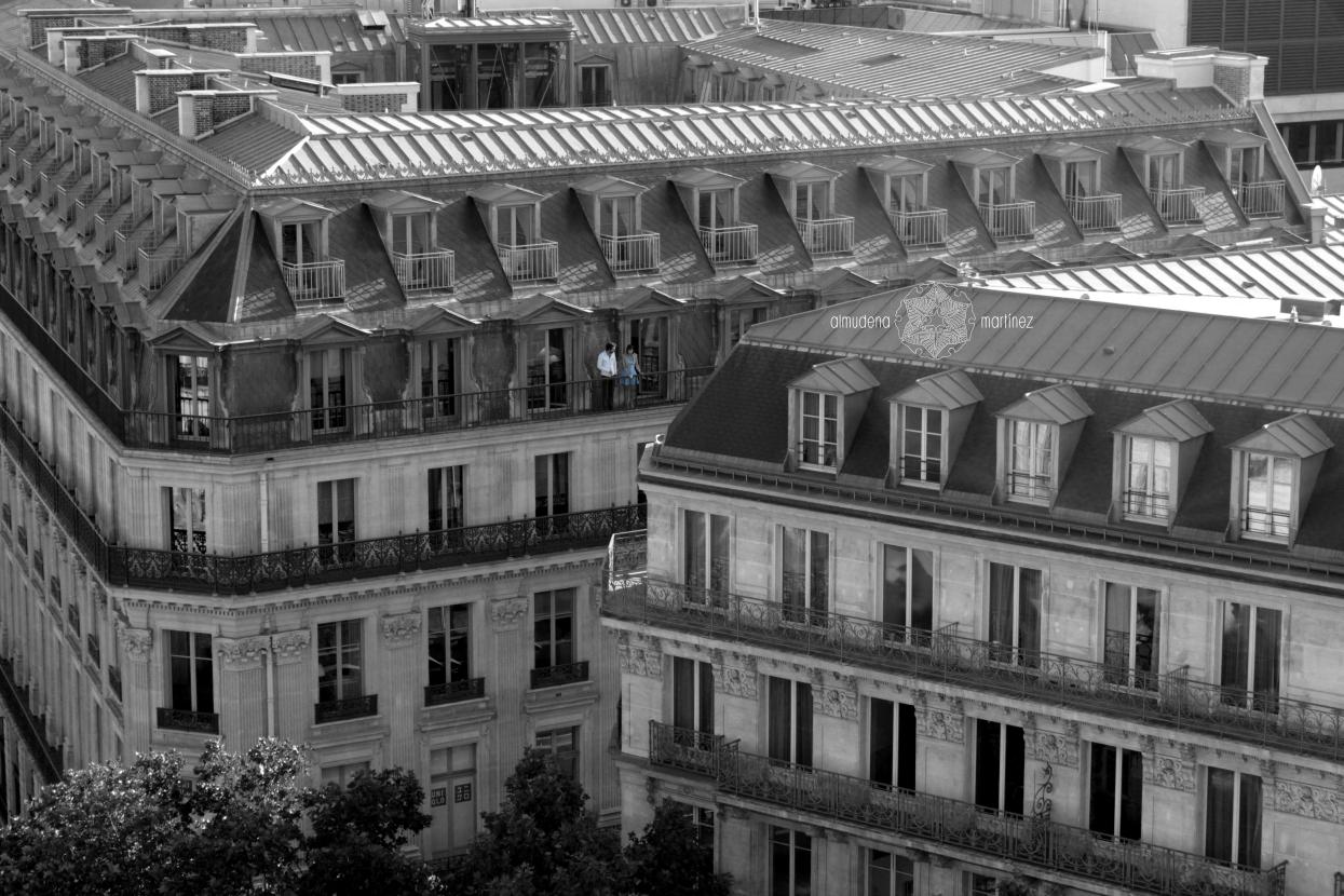 Los tejados de París
